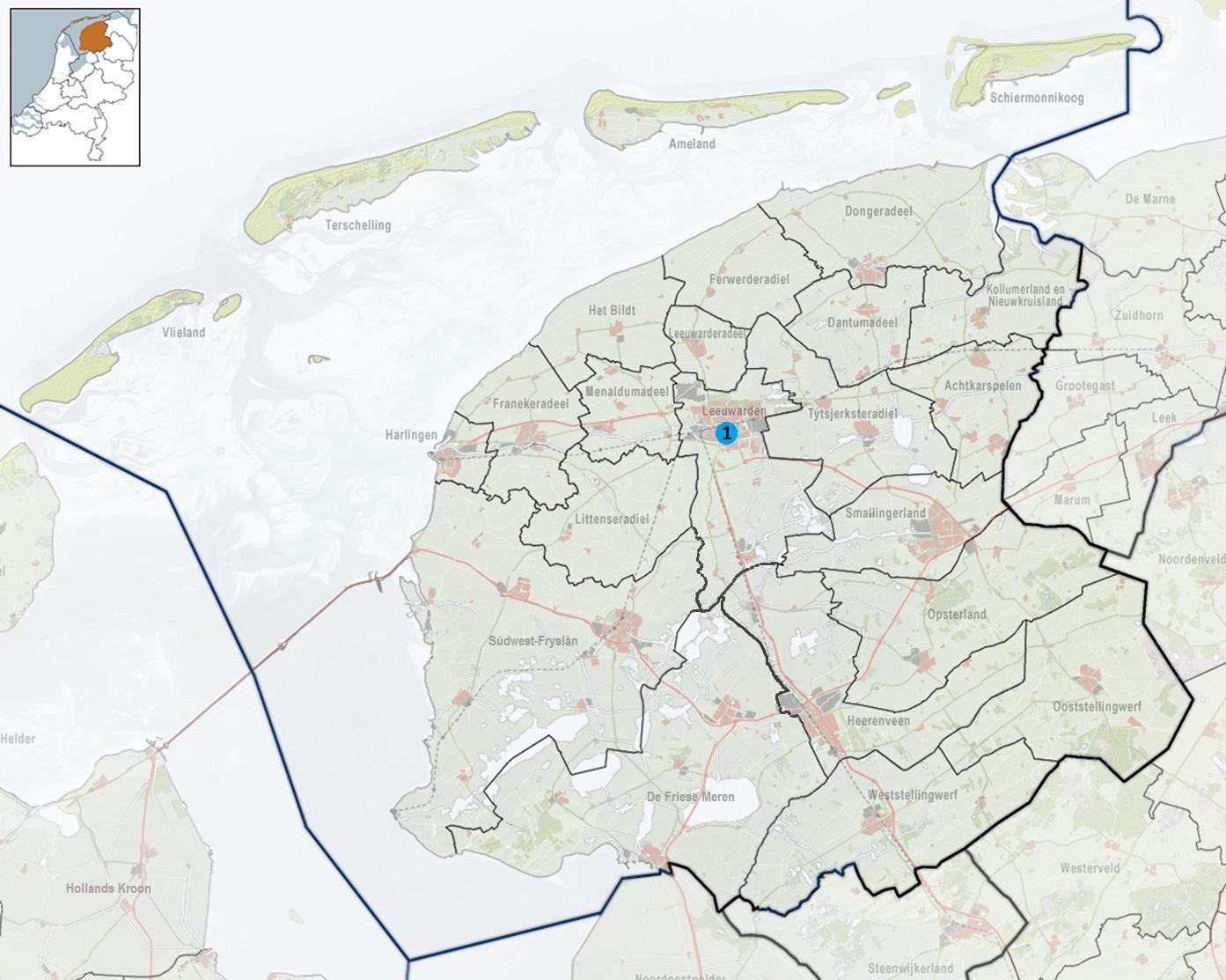 2010-NL-P02-Fryslan-positiekaart-gemnamen