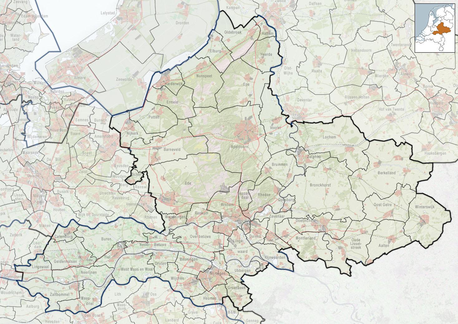 2010-NL-P05-Gelderland-positiekaart-gemnamen