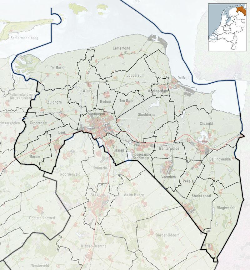 800px-2010-NL-P01-Groningen-positiekaart-gemnamen